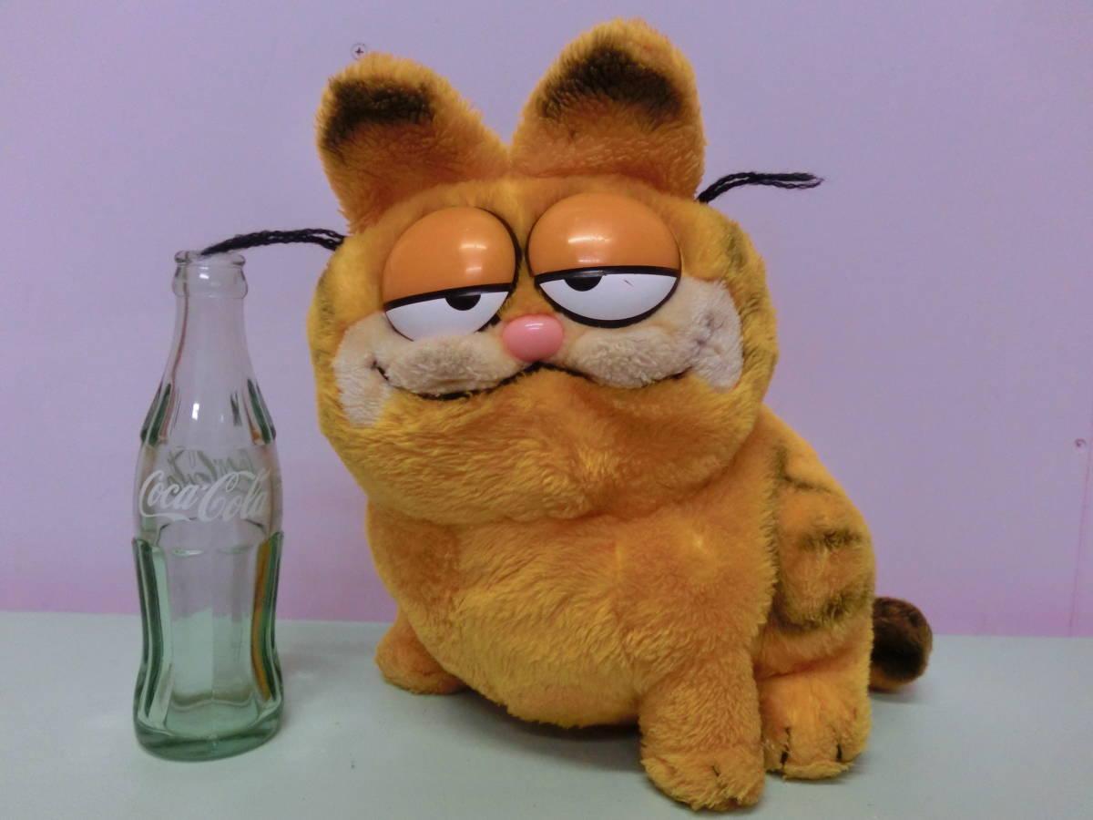 Garfield Vintage Soft Toy Doll 28cm Seat Big Garfield Dakin 80s Vintage Stuffed Animal Plush Usa Cat Cat Real Yahoo Auction Salling