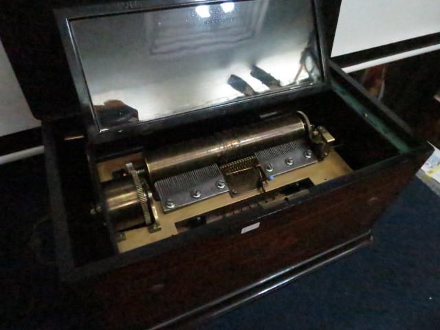 :【古都京都】「アンテークオルゴールB-367」オルゴール・蓄音機.シリンダー〝オ〟_画像2