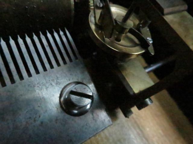 :【古都京都】「アンテークオルゴールB-367」オルゴール・蓄音機.シリンダー〝オ〟_画像3