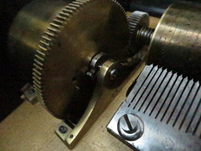 :【古都京都】「アンテークオルゴールB-367」オルゴール・蓄音機.シリンダー〝オ〟_画像6