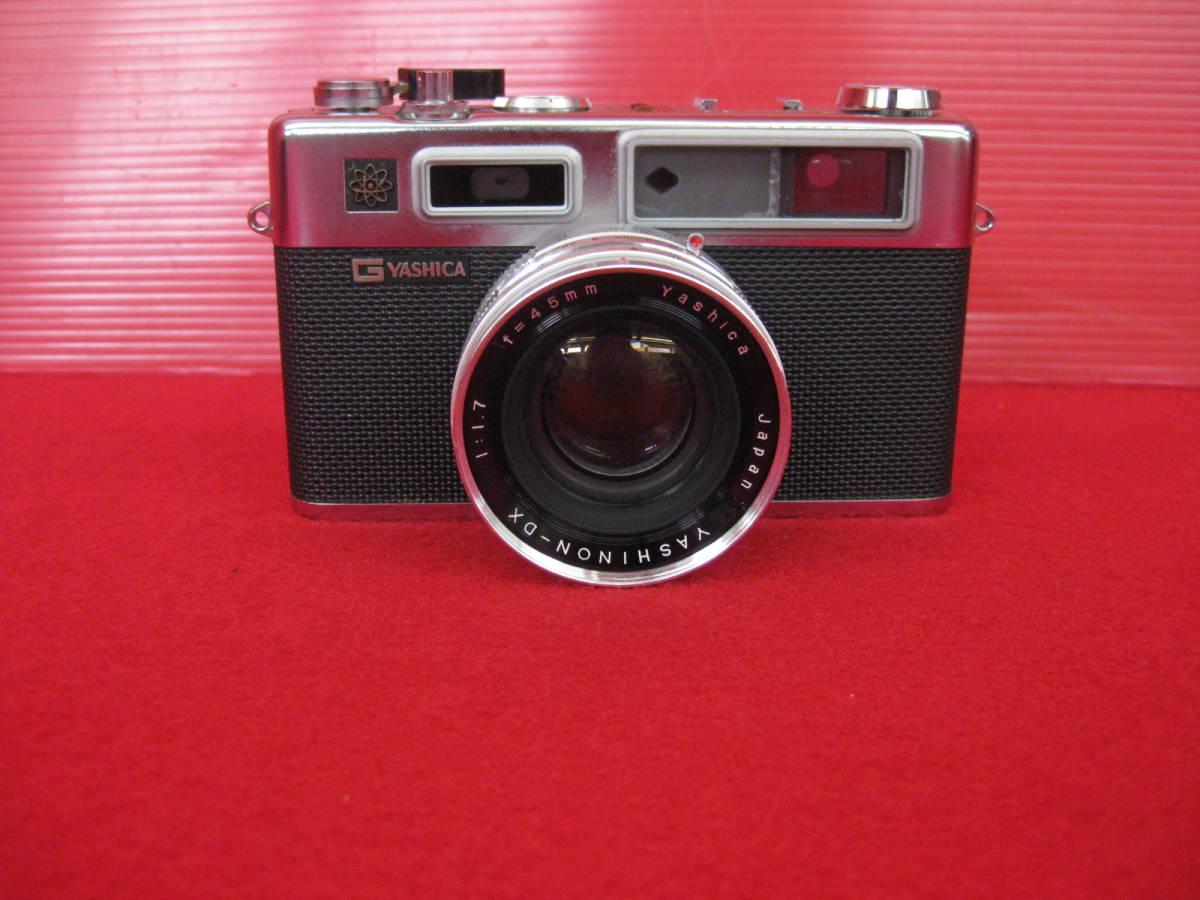 【ハッピー】YASHICA ヤシカ フィルムカメラ エレクトロ35 レトロ レンジファインダーカメラ ジャンク_画像2