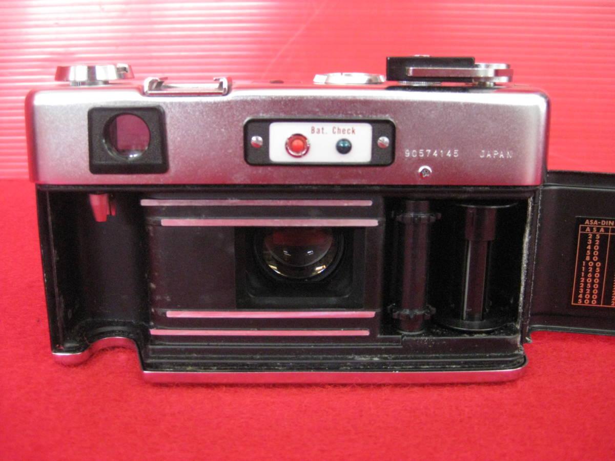 【ハッピー】YASHICA ヤシカ フィルムカメラ エレクトロ35 レトロ レンジファインダーカメラ ジャンク_画像5