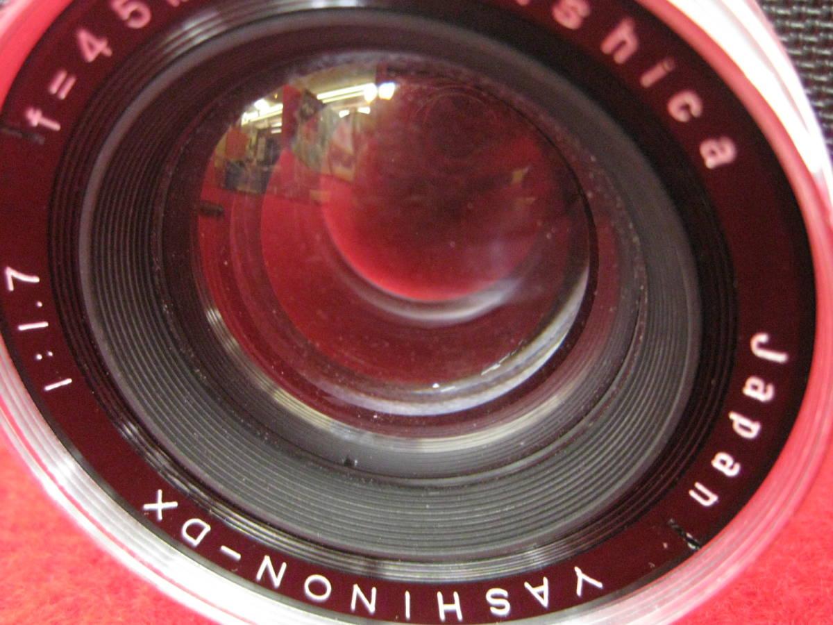 【ハッピー】YASHICA ヤシカ フィルムカメラ エレクトロ35 レトロ レンジファインダーカメラ ジャンク_画像8