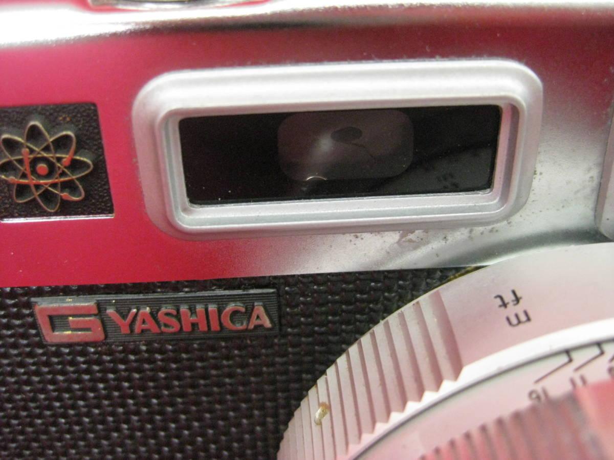【ハッピー】YASHICA ヤシカ フィルムカメラ エレクトロ35 レトロ レンジファインダーカメラ ジャンク_画像9