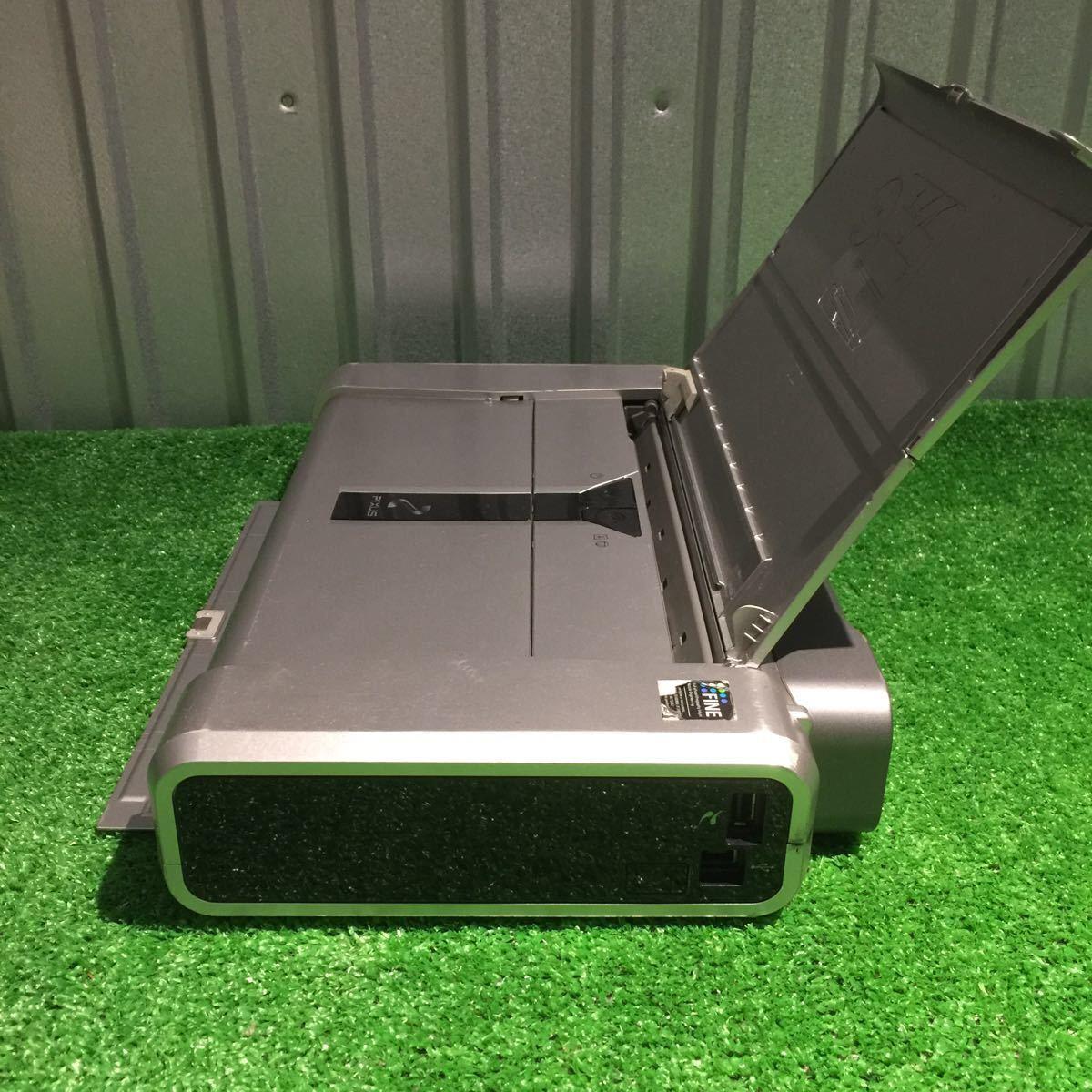1円~ 動作確認済み キャノン Canon iP100 モバイルプリンター 印表機 インク付 80サイズ ⑥_画像6