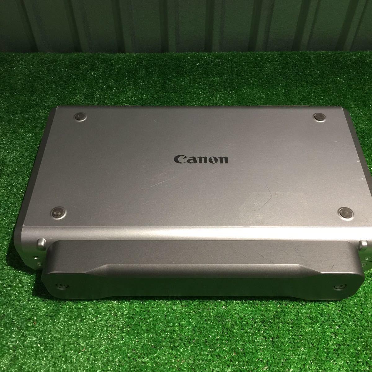 1円~ 動作確認済み キャノン Canon iP100 モバイルプリンター 印表機 インク付 80サイズ ⑥_画像8