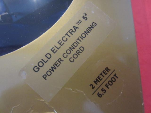 ★WIREWORLD ワイヤーワールド Gold Electra5-2 ゴールドエレクトラ 電源ケーブル 2.0m 未使用品 日本未輸入モデル WIRE WORLD★_画像2