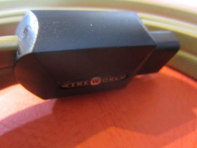 ★WIREWORLD ワイヤーワールド Gold Electra5-2 ゴールドエレクトラ 電源ケーブル 2.0m 未使用品 日本未輸入モデル WIRE WORLD★_画像7