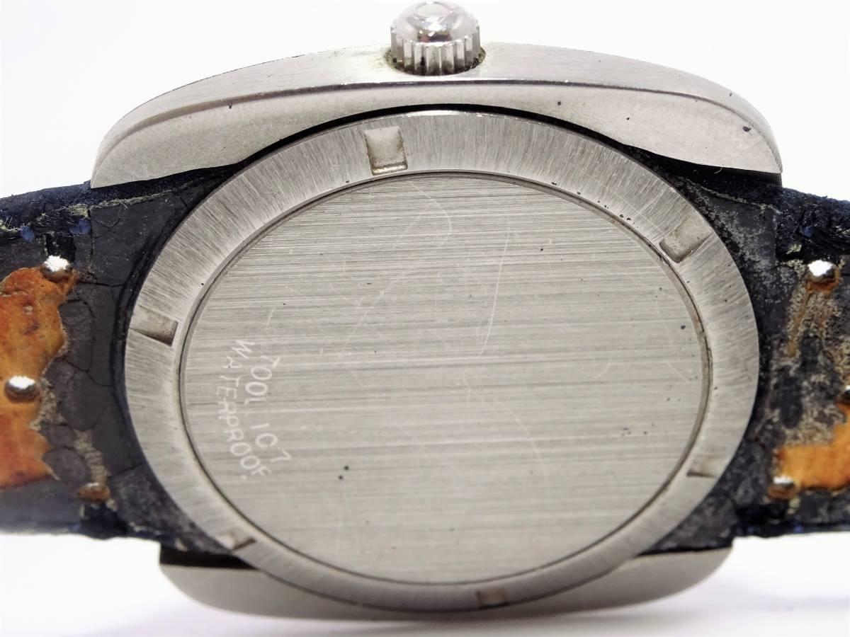 歐米茄日內瓦方形男士日期海軍正品氣息古董自動上弦W 3880 編號:w270430704