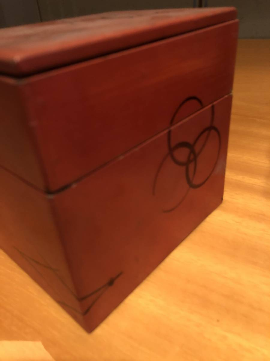 江戸期の木箱 在銘_画像2