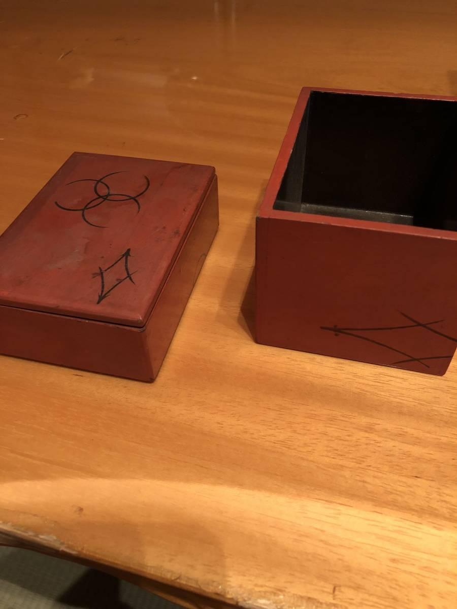 江戸期の木箱 在銘_画像3