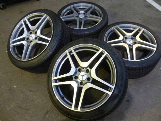 奔馳雙輻條19英寸輪胎4件套 編號:d322491273