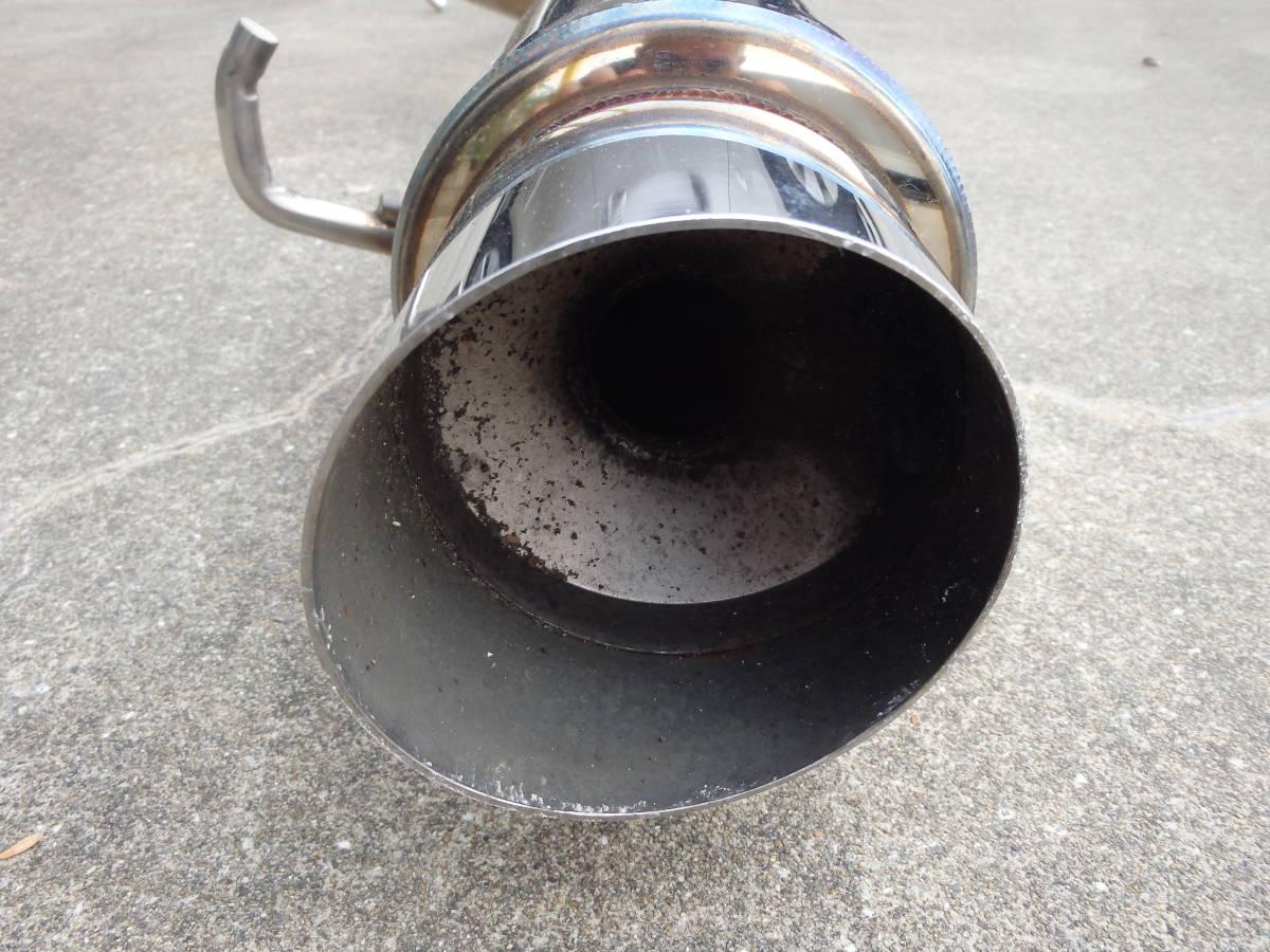 賣出1日元! Jimny JA11不銹鋼消音器售罄! 編號:t608620521