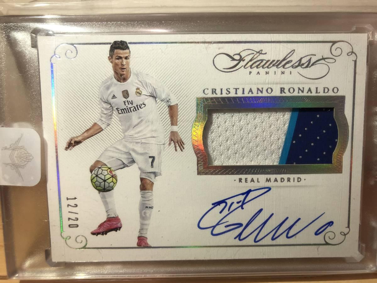 Flawless Cristiano Ronaldo Patch Auto クリスティアーノ・ロナウド 直筆サインカード