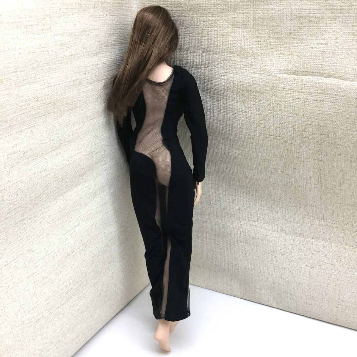 送料無料 美品 1/6サイズ PHICEN ファイセン素体対応 女性フィギュア用 ドレス 番号A58_画像4