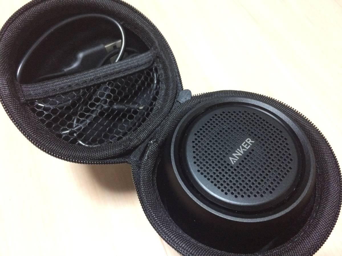 【送料無料・おまけケースつき】Anker SoundCore mini Bluetoothスピーカー【15時間連続再生/内蔵マイク搭載/micro SDカード & FM対応】_画像6