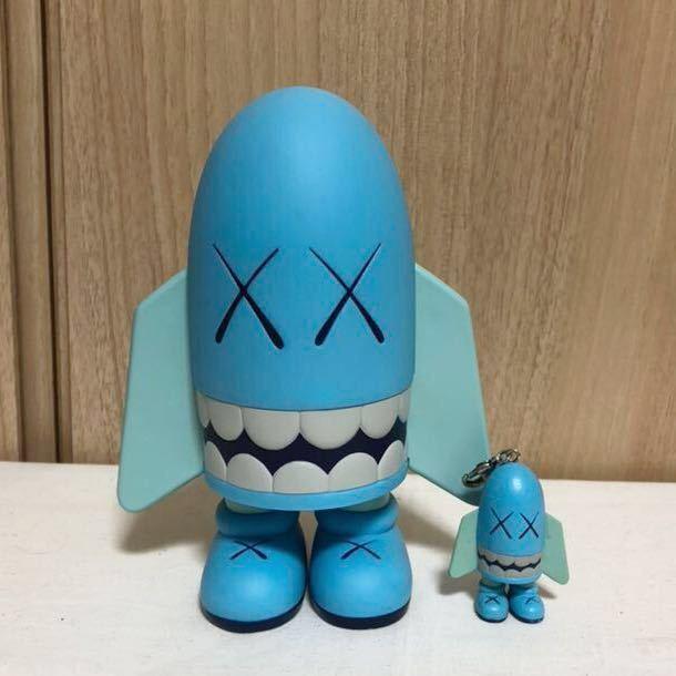 [正規品・箱無し]激レア KAWS カウズ BLITZ ブリッツ Blue ブルー hectic限定 Original Fake オリジナルフェイク MEDICOM TOY