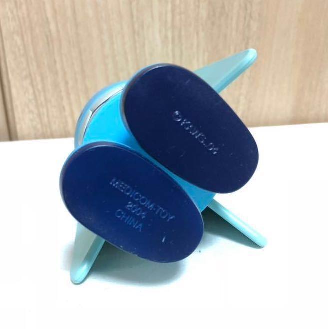 [正規品・箱無し]激レア KAWS カウズ BLITZ ブリッツ Blue ブルー hectic限定 Original Fake オリジナルフェイク MEDICOM TOY _画像5