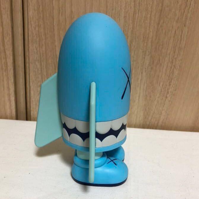 [正規品・箱無し]激レア KAWS カウズ BLITZ ブリッツ Blue ブルー hectic限定 Original Fake オリジナルフェイク MEDICOM TOY _画像2