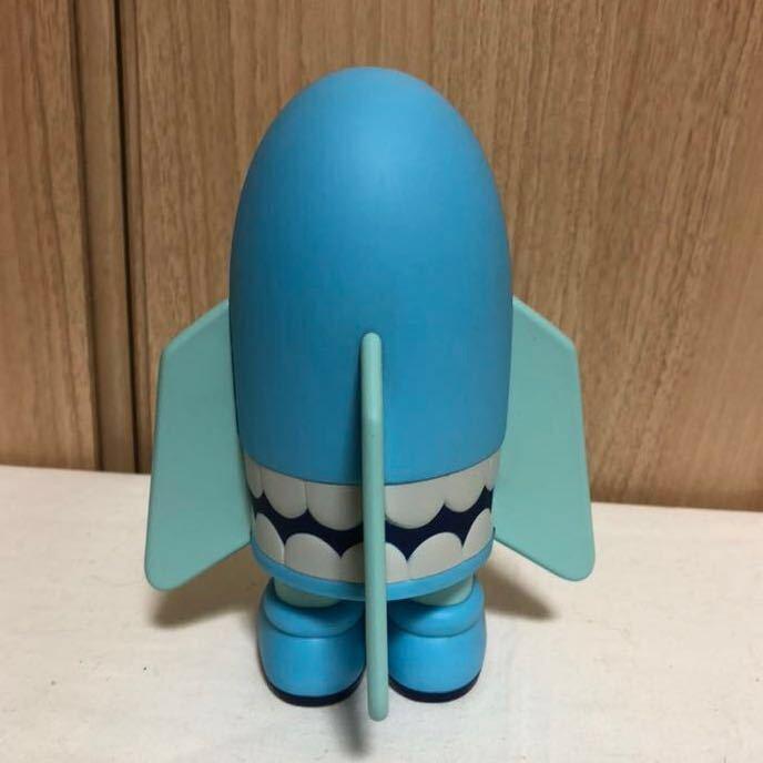 [正規品・箱無し]激レア KAWS カウズ BLITZ ブリッツ Blue ブルー hectic限定 Original Fake オリジナルフェイク MEDICOM TOY _画像3