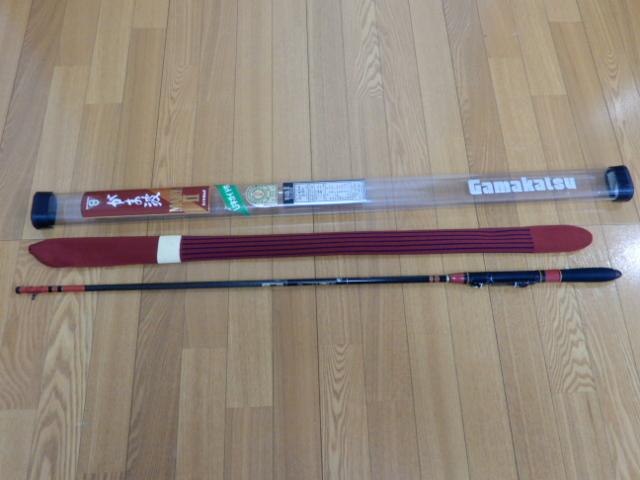 がまかつ がま波 マークⅡ 3.6m 未使用保管品 激レア