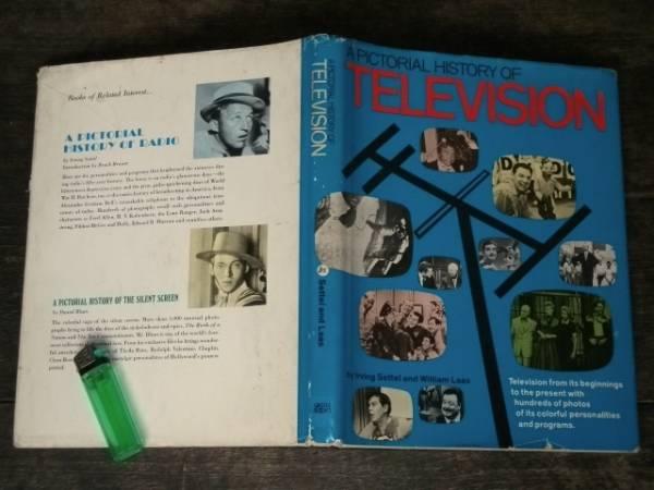 1969年 洋書 Pictorial History of Television テレビジョンの歴史 海外テレビ番組 TV放送 40s 50s 60s アメリカ レトロ ビンテージ 古写真_画像1