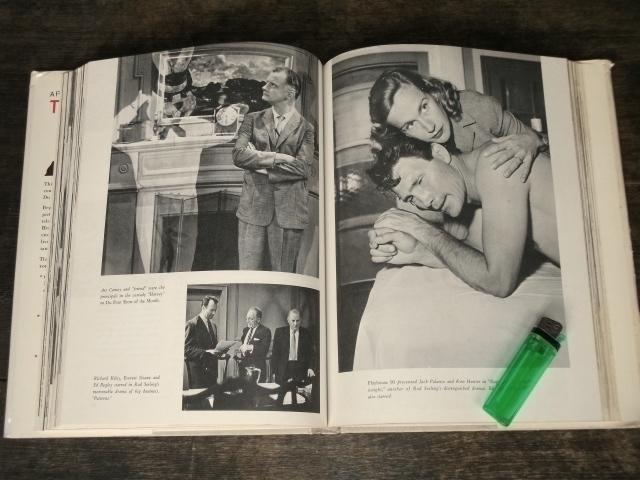 1969年 洋書 Pictorial History of Television テレビジョンの歴史 海外テレビ番組 TV放送 40s 50s 60s アメリカ レトロ ビンテージ 古写真_画像8