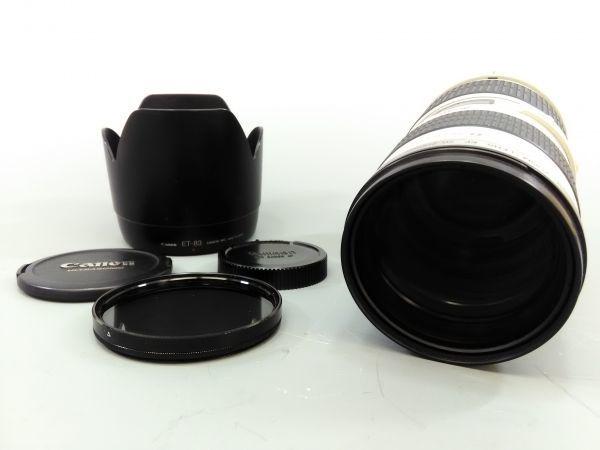 R1102-10/KN30000 カメラ レンズ Canon キャノン ULTRASONIC LENS EF 70-200mm 1:2.8 レンズフード ET-83