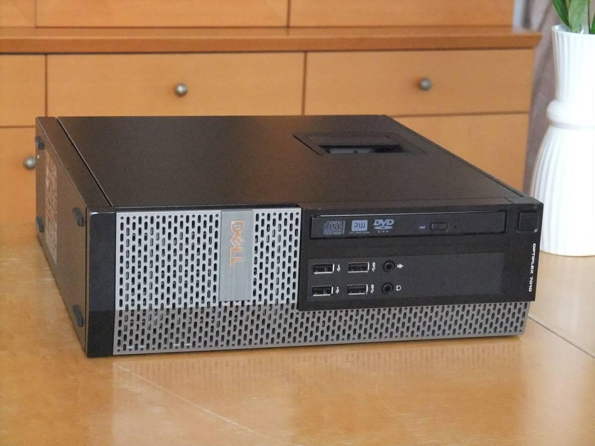 【究極】i7-4770 3.9Gx8/新品SSD640G+大容量HD3TB/大容量16Gメモリ/Win10/USB3.0/Microsoft Office2016/領収証発行可/Optiplex9020_画像2