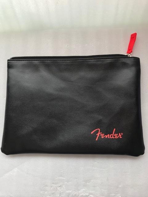 Fender USA Fenderロゴ入りポーチ フェンダー (革製・非売品)_画像1