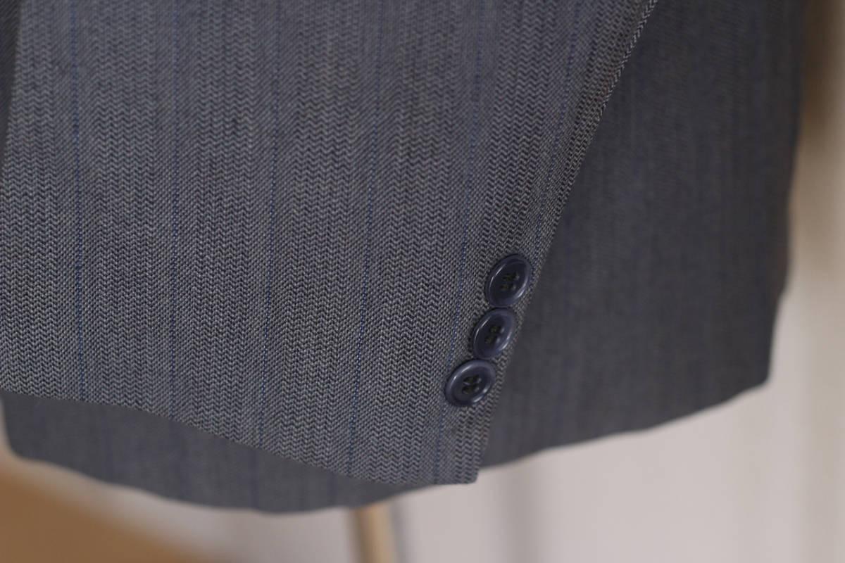 [値下げ交渉可] 1930s 1940s 高級 ビンテージ 2ピース スーツ ストライプ ブルー グレー 30s 40s 50s 2pc ツーピース dry bones RRL レトロ_画像8