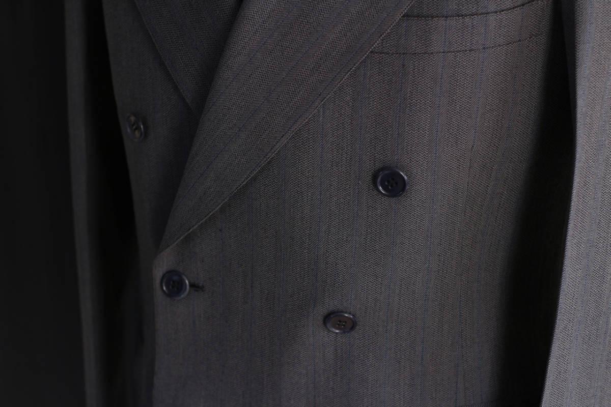 [値下げ交渉可] 1930s 1940s 高級 ビンテージ 2ピース スーツ ストライプ ブルー グレー 30s 40s 50s 2pc ツーピース dry bones RRL レトロ_画像7