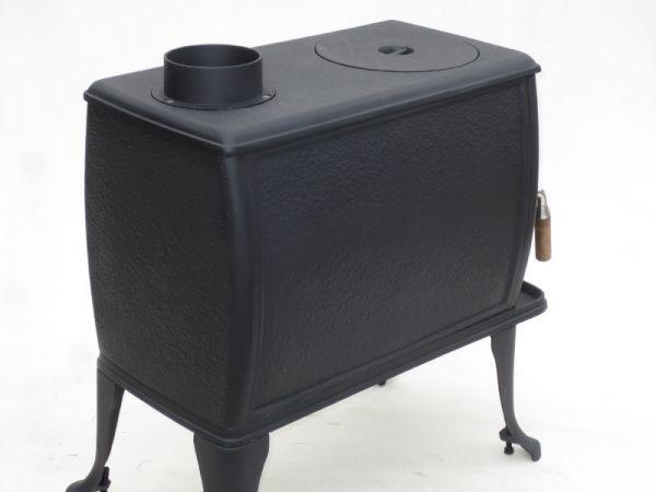 ★訳有り処分★実用型 煮炊きOK・薪40cm・薪ストーブ2053L型(左ドア仕様) ロストル付._画像2