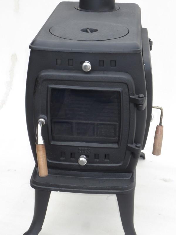 ★訳有り処分★実用型 煮炊きOK・薪40cm・薪ストーブ2053L型(左ドア仕様) ロストル付._画像5