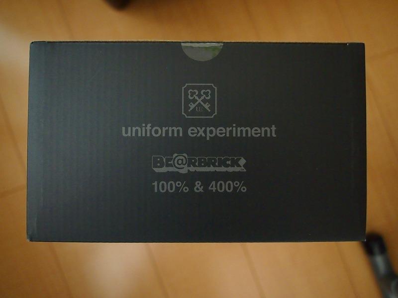 希少!新品 BE@RBRICK × uniform experiment 100% & 400%/ベアブリックsoph. fcrb fragment design 藤原ヒロシ フラグメント ブリストル_画像5