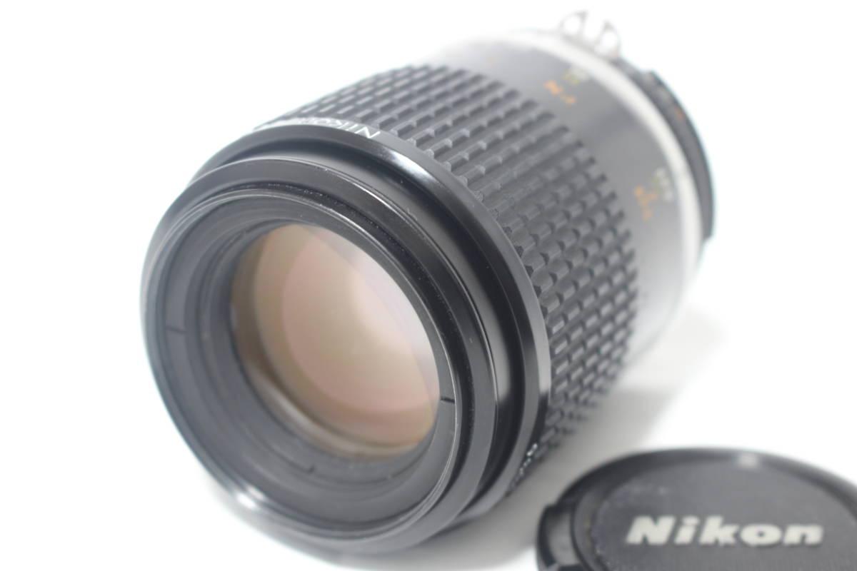 外観美品◆Nikon ニコン Ai-s Micro-NIKKOR 105mm F2.8◆-04拍卖