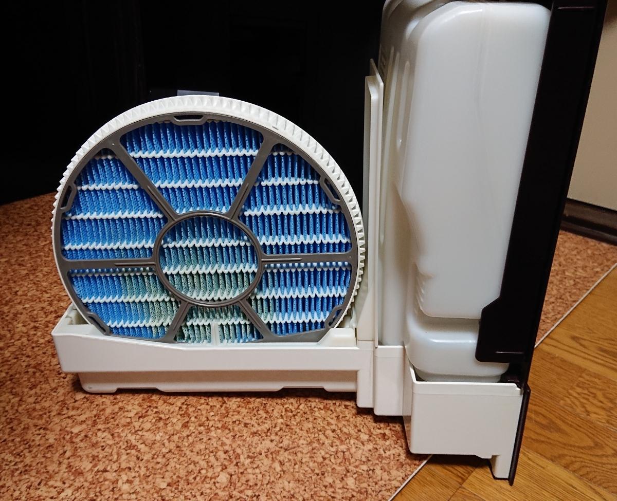 シャープ プラズマクラスター25000搭載 加湿空気清浄機 KI-AX70-T ブラウン_画像4