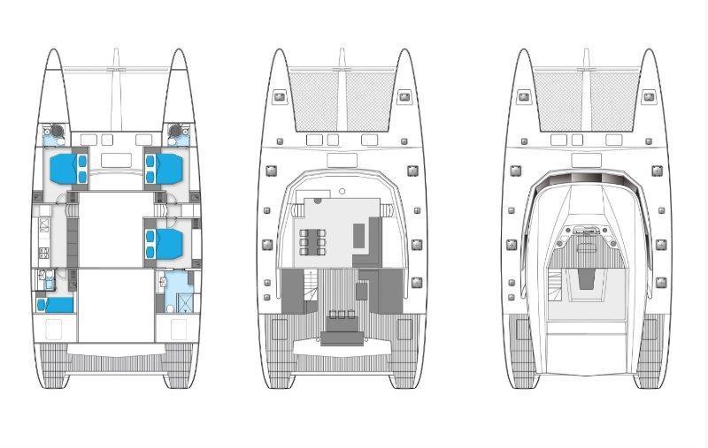 新着情報!!Sunreef Loft 60 Sailing Catamaran (USED)_画像3