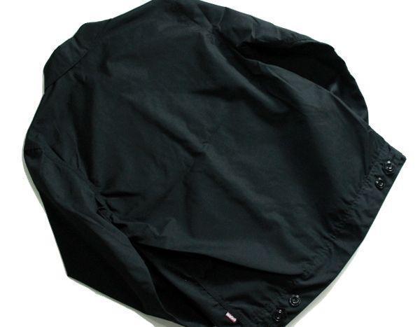 【 新品 】定価27864円★ Hide and seek ★ 14SS ジャケット 黒 サイズM /SG70 ハイドアンドシーク_画像3