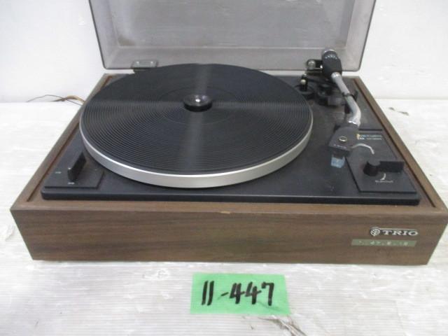11-447 2〇TRIO レコードプレーヤー KP-2022  2〇_画像2