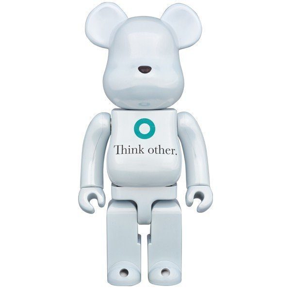 BE@RBRICK i am OTHER WHITE Ver.400% _画像1