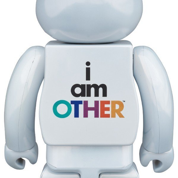 BE@RBRICK i am OTHER WHITE Ver.400% _画像2