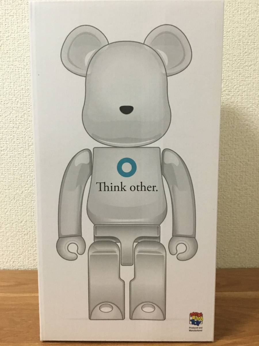 BE@RBRICK i am OTHER WHITE Ver.400% _現物①