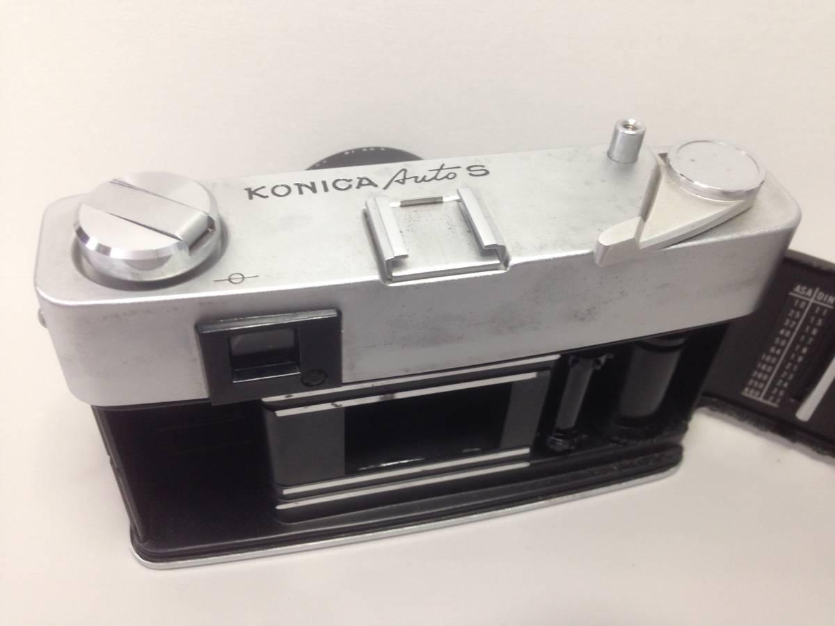 U29169 中古★コニカ オートS Konica AutoS KONISHIROKU HEXANON 1:1.9 f=47mm _画像8