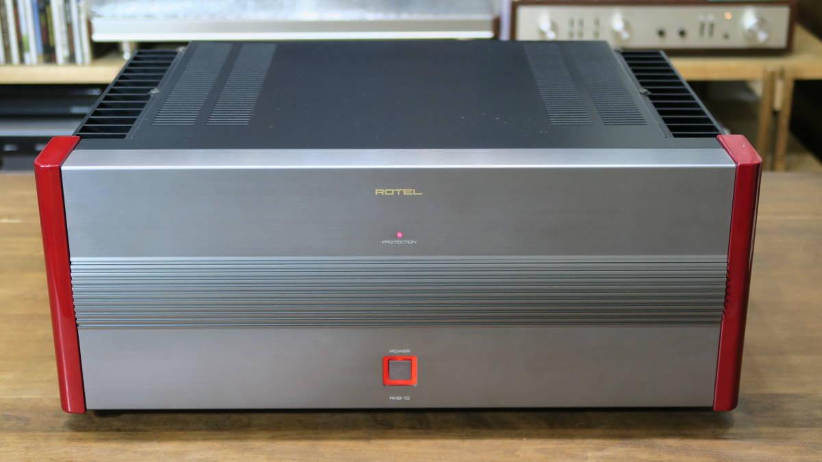 ROTEL ローテル RHB-10 パワーアンプ 200W×2