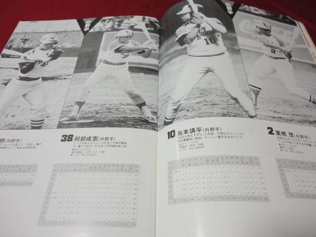 【プロ野球】近鉄バファローズファンブック1979_画像3
