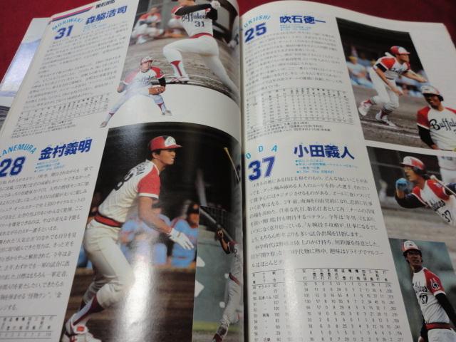 【プロ野球】近鉄バファローズファンブック1983_画像3