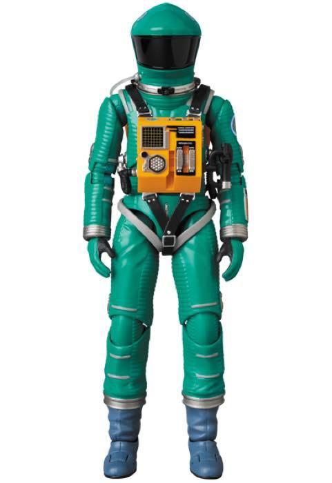 2001年宇宙の旅 アクションフィギュア MAFEX SPACE SUIT(GREEN Ver.)宇宙飛行士 アストロノーツ スタンリーキューブリック_画像5