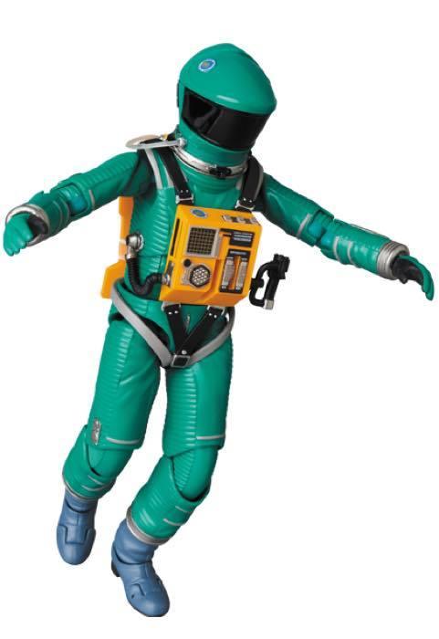 2001年宇宙の旅 アクションフィギュア MAFEX SPACE SUIT(GREEN Ver.)宇宙飛行士 アストロノーツ スタンリーキューブリック_画像10