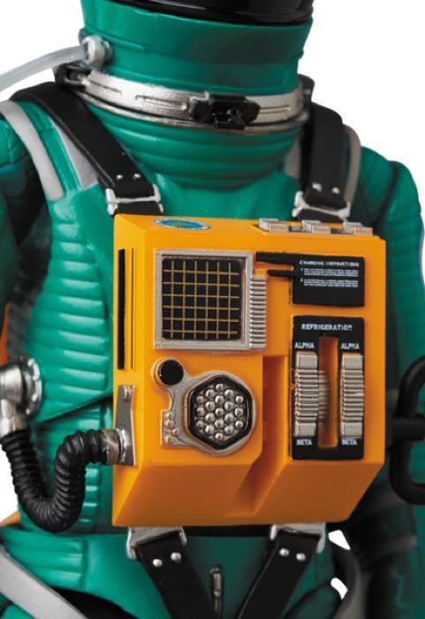 2001年宇宙の旅 アクションフィギュア MAFEX SPACE SUIT(GREEN Ver.)宇宙飛行士 アストロノーツ スタンリーキューブリック_画像8